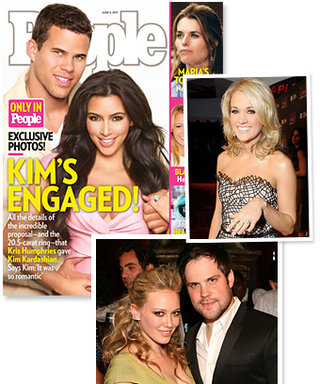 Celebrity Engagement Rings: See the Sparklers that Rock