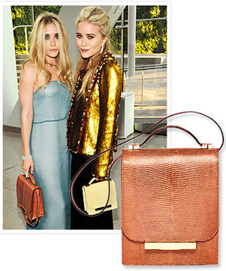 Mary-Kate and Ashley Olsen Debut The Row Handbags!
