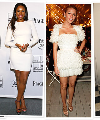 Celebrity Style Inspiration: Little White Dresses!