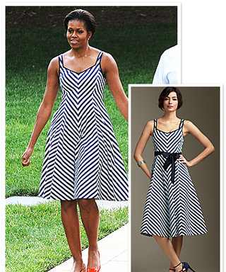Found It! Michelle Obama's Striped Dress