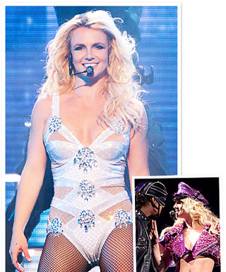 Britney Spears' Femme Fatale Tour Outfits: Covered in Crystals!