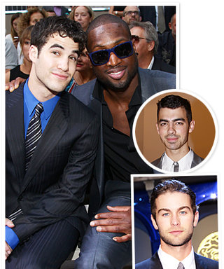 The Men Who Love Fashion Shows Are...