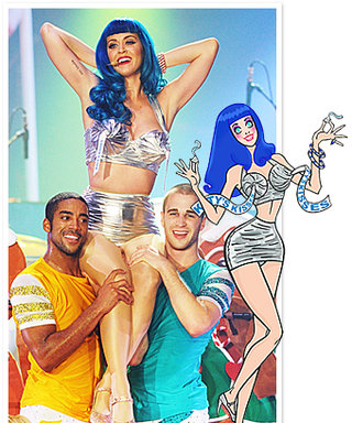 Katy Perry's California Dreams Tour Costumes: See the Sketch!