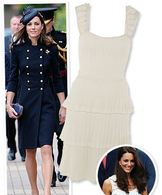 Catherine Middleton's Weekend Wardrobe: McQueen and Temperley!
