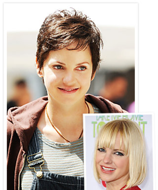Anna Faris' Hair Makeover: Blond Bob to Brunet Pixie!