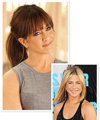 Jennifer Aniston's Hair: Do You Prefer Blond or Brunet?