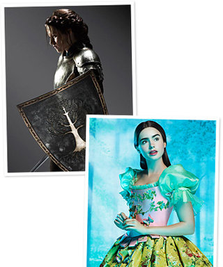 The New Snow Whites: Lily Collins and Kristen Stewart!