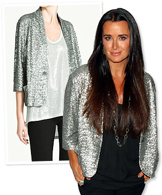 Found It! Kyle Richards' Sequined Jacket