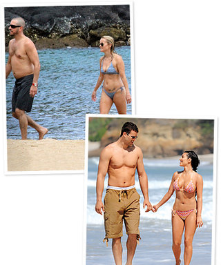 The Hottest Celebrity Beach Couples: See the Photos!