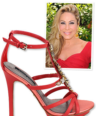 Real Housewives of Beverly Hills: Adrienne Maloof's Shoe Line!