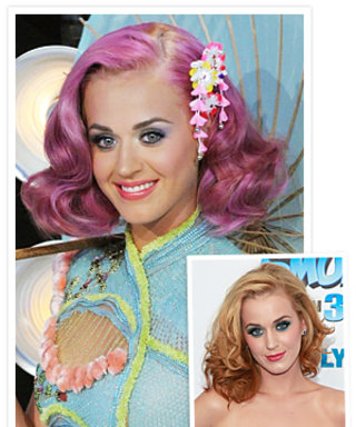Katy Perry's Lavender Hair