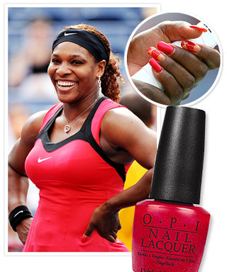 Manicure Moment: Serena Williams' Red Hot US Open Nails