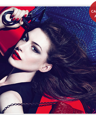 Anne Hathaway Models for Tod's