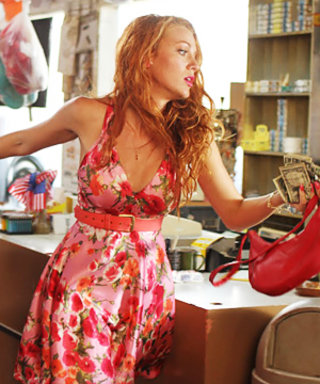 Blake Lively Works Her Red Hair for Hick