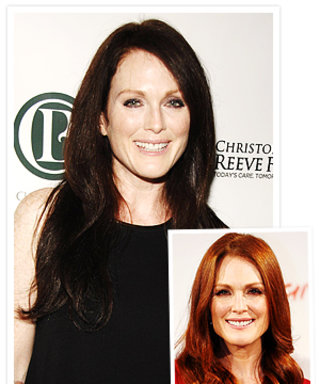 Julianne Moore's New Fall Hair Color!