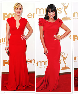 Emmys Trend: Red Dresses!