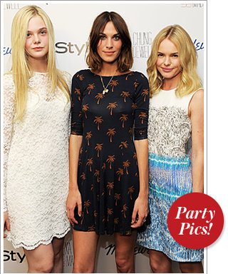 InStyle Fêtes Alexa Chung's New Madewell Collection