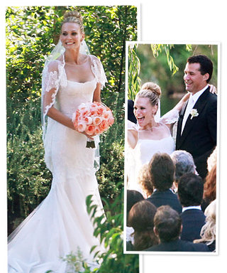 Molly Sims' Marchesa Wedding Dress