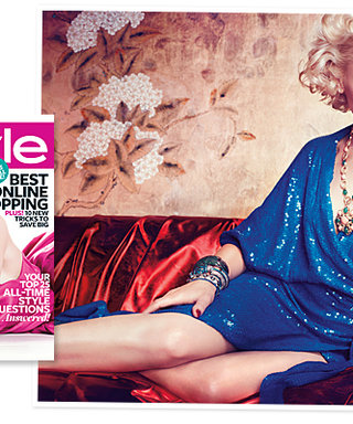 Gwen Stefani Is InStyle's November Cover Girl!