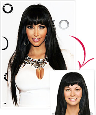 Try on Kim Kardashian's Bangs!