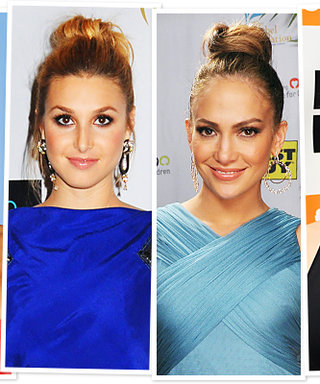 Sexy Fall Hair Idea: The Soft Top Knot!