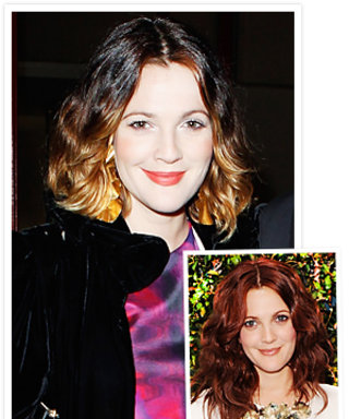 Drew Barrymore Returns to Ombre Hair
