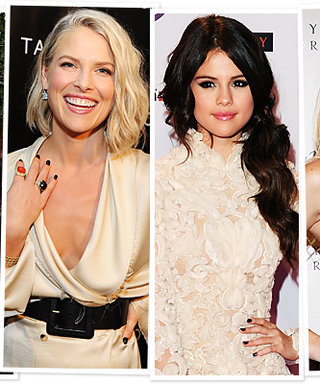 Celebrity Manicure Inspiration: Black Nail Polish!