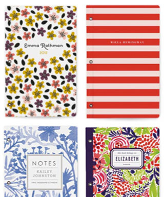 Gift Idea: Minted's New Personalized $16 Notebooks