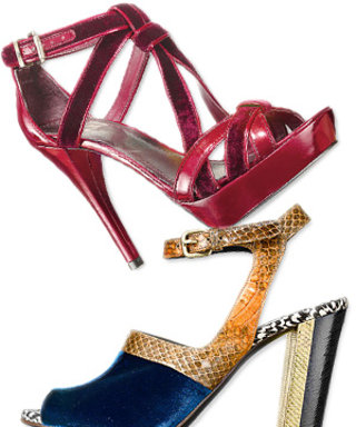 Colorful Velvet Shoes: InStyle's Top Picks!