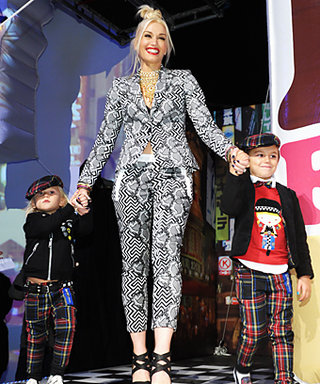 Zuma and Kingston Rossdale Model for Mom Gwen Stefani
