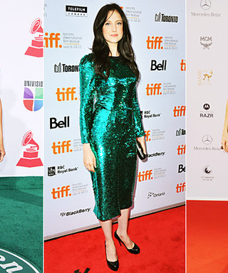 Party Dress Inspiration: Green Sequins!