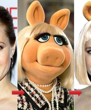 The Muppets: The Cast Tries Miss Piggy's Hair!