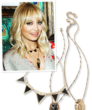 Found It! Nicole Richie's Black and Gold Necklaces