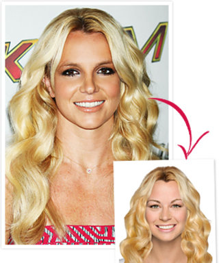 Try on Britney Spears' Hairstyle!