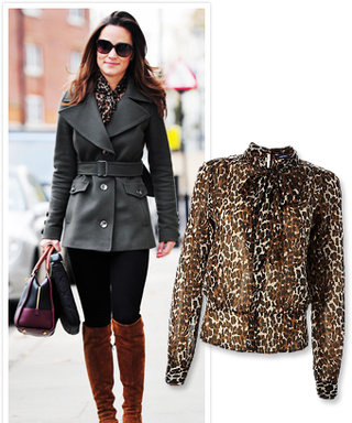Found It! Pippa Middleton's Printed Top