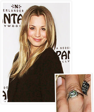 Kaley Cuoco's Vintage-Inspired Engagement Ring
