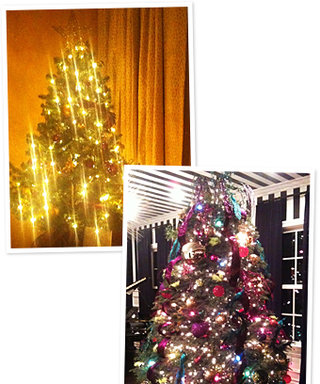 Our Favorite Celebs Show Off Their Christmas Trees!
