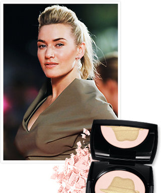 Kate Winslet's Golden Hat Foundation and Lancôme Makeup Collection