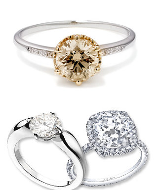 The Most Popular Engagement Rings of 2011