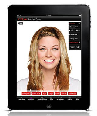 InStyle Launches Version 2.0 of The Hairstyle Try-On App!