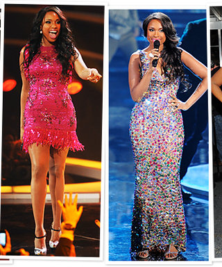 Check Out Jennifer Hudson's Four Diva Outfit Changes!