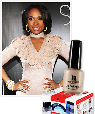 Try This at Home: Jennifer Hudson's DIY Gel Manicure!