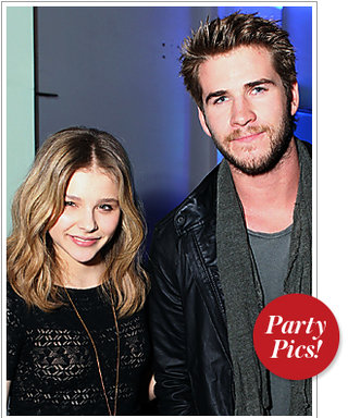 Chloe Moretz and Liam Hemsworth Go Gaming and More!