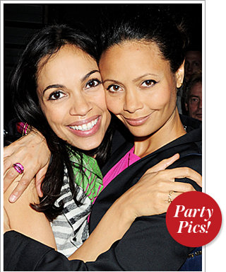 Rosario Dawson and Thandie Newton Get Close and More!