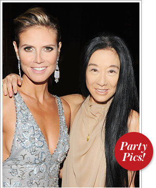 Heidi Klum and Vera Wang Link Together and More