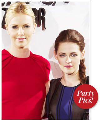 Charlize Theron and Kristen Stewart Celebrate Snow White and More!
