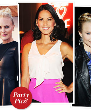 Last Night's Parties: Celebrities Shop Coach for a Cause and More!