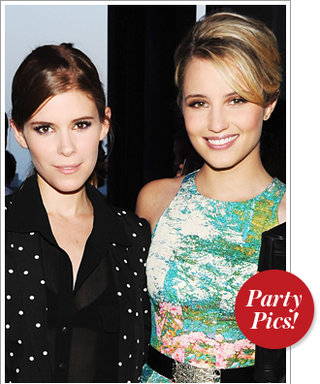 Last Night's Parties: Kate and Dianna at Coach's Carnival and More