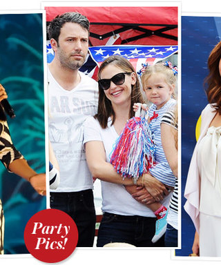 Fourth of July Parties: How the Stars Celebrated!