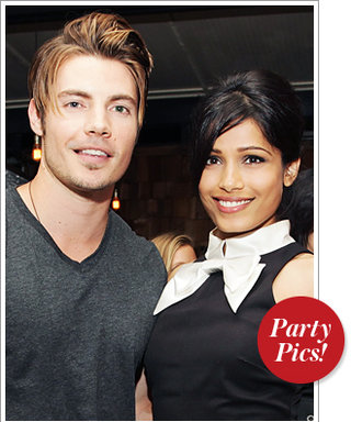 Last Night's Parties: Freida Pinto, Josh Henderson, and More